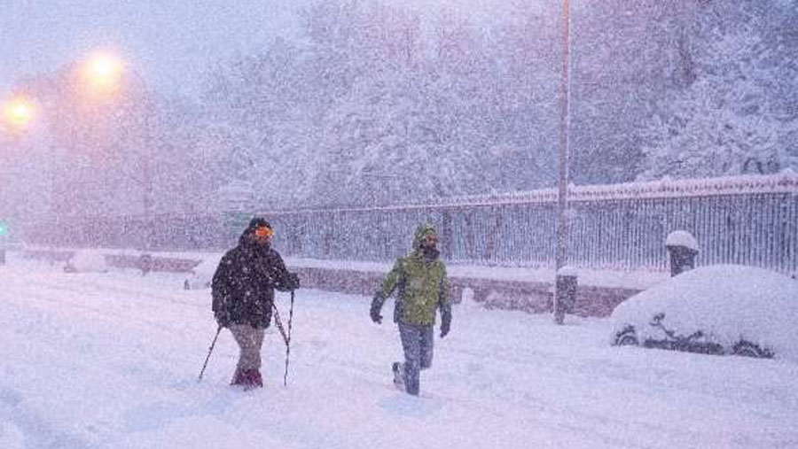 Snowstorms cause chaos across Spain