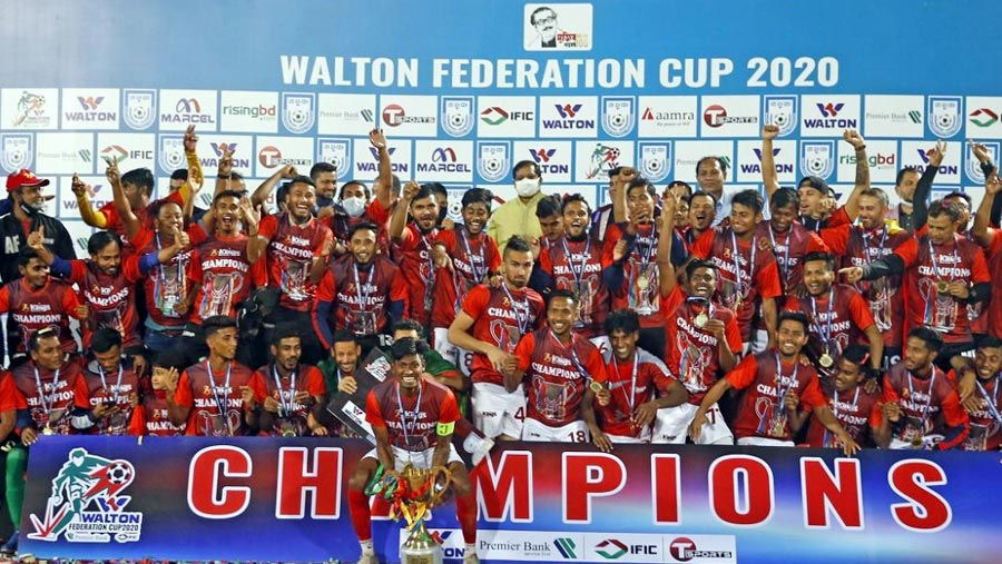 Kings defends Federation Cup title