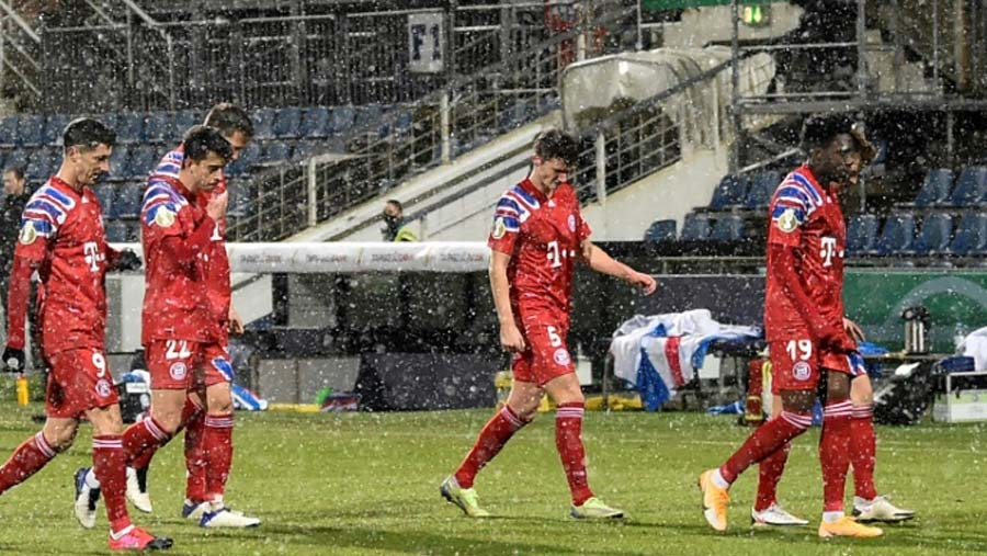 Bayern knocked out of German Cup