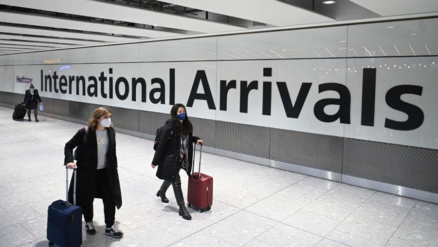 UK announces closure of all travel corridors starting Monday