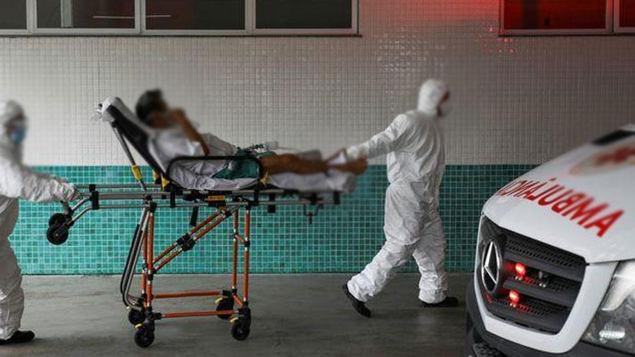 Northern Brazilian state declares curfew over virus