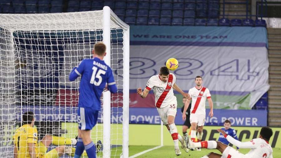 Leicester go second with win over Southampton