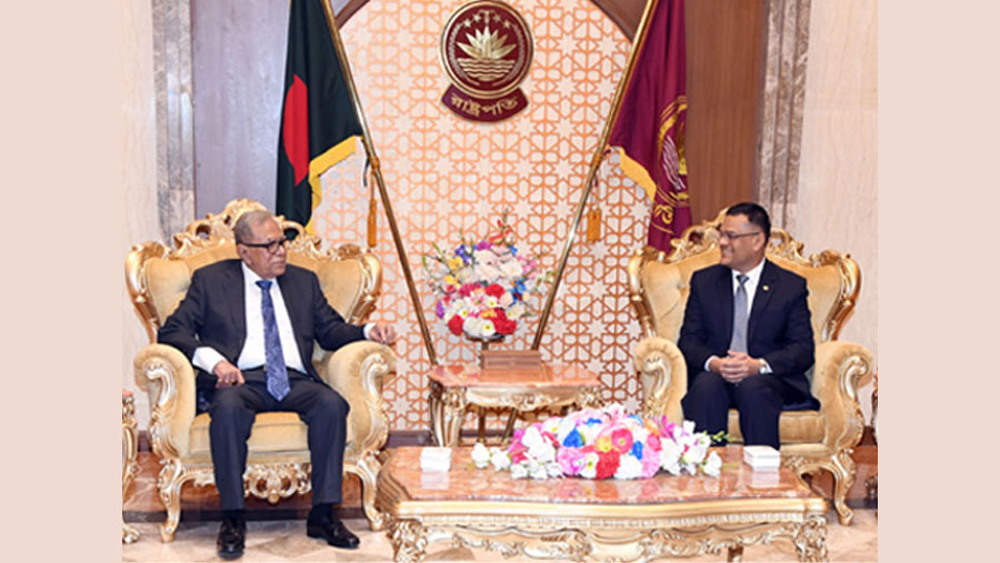 President Hamid for focusing on research with general education