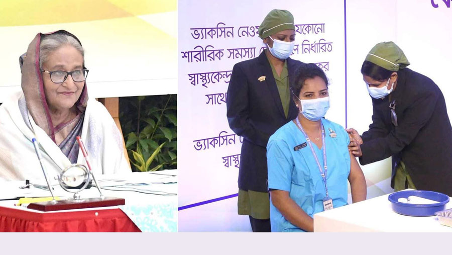 Nationwide Covid-19 vaccination campaign inaugurated by PM