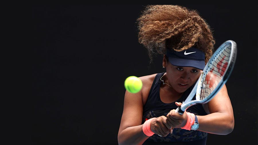 Osaka saves match points against Muguruza to reach quarters