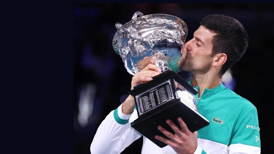 Djokovic wins ninth Australian Open