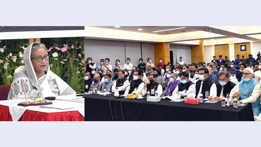 Bangalee achieves everything through Language Movement, says PM