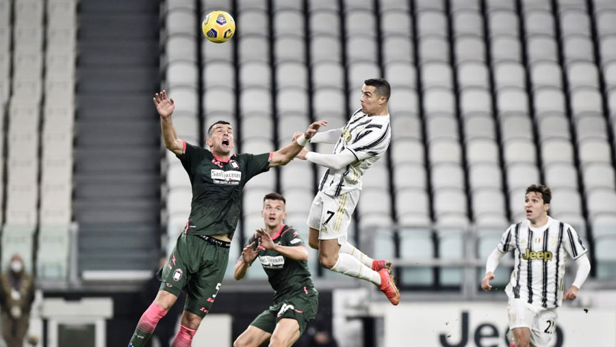 CR7 scores two as Juve beat Crotone