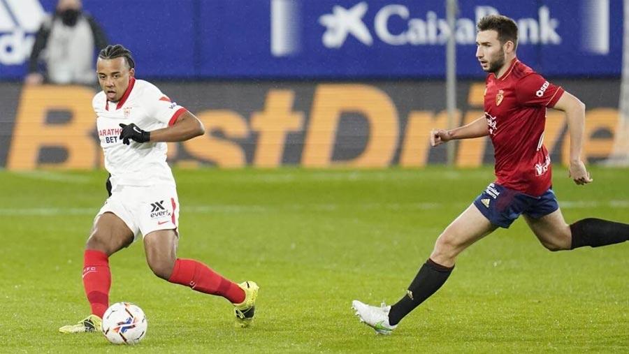 Consistent Sevilla beat Osasuna to go third