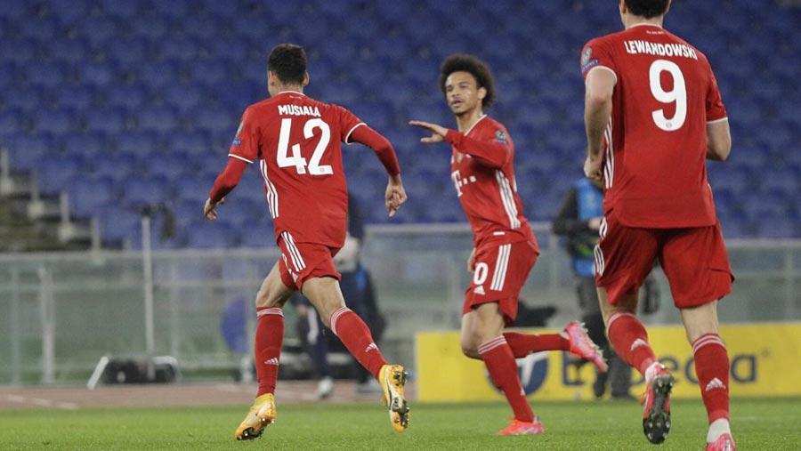 Bayern rout Lazio in Champions League