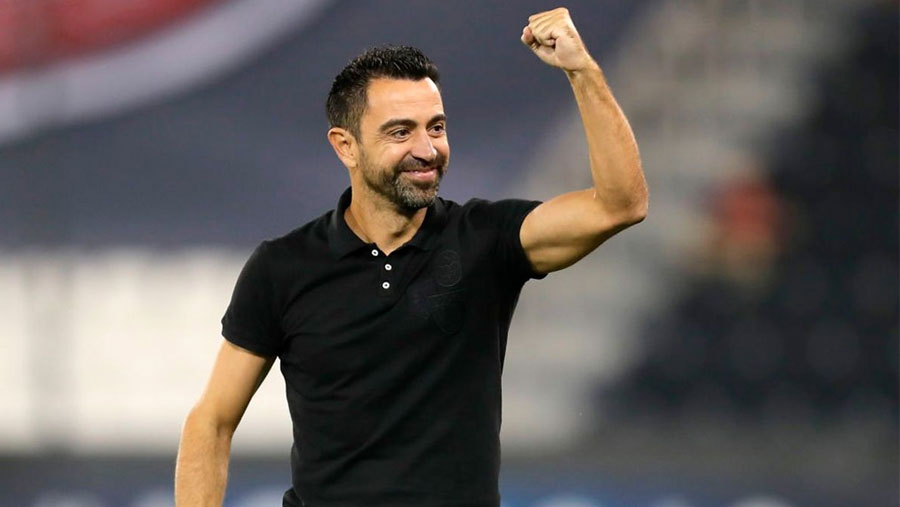 Xavi wins the Cup with Al Sadd, his fifth title as a coach