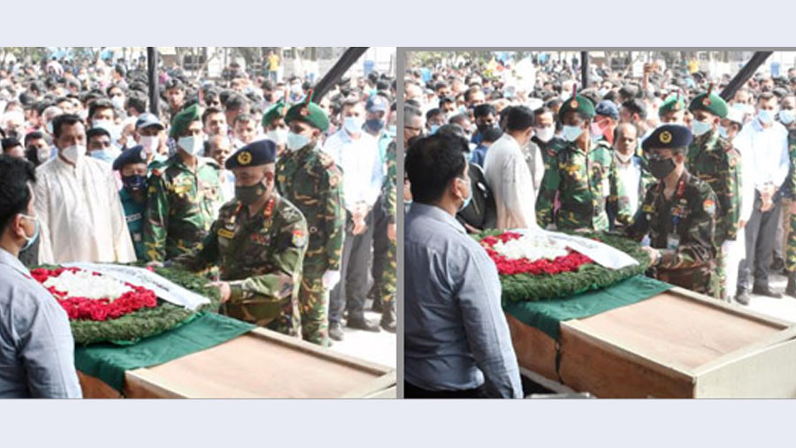 HT Imam laid to rest at Banani graveyard