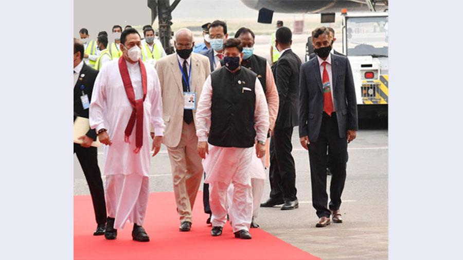 Sri Lankan PM leaves for Colombo ending two-day visit