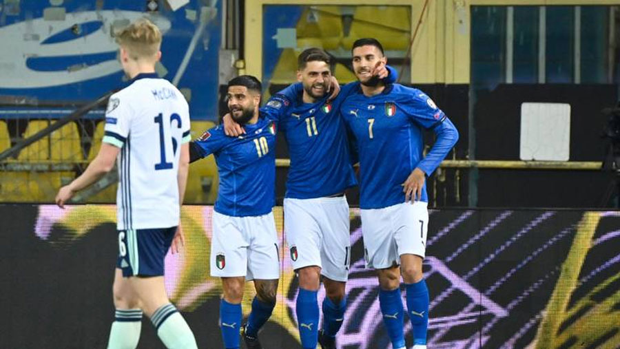 WC qualifying: Germany, England, Italy win; Spain held