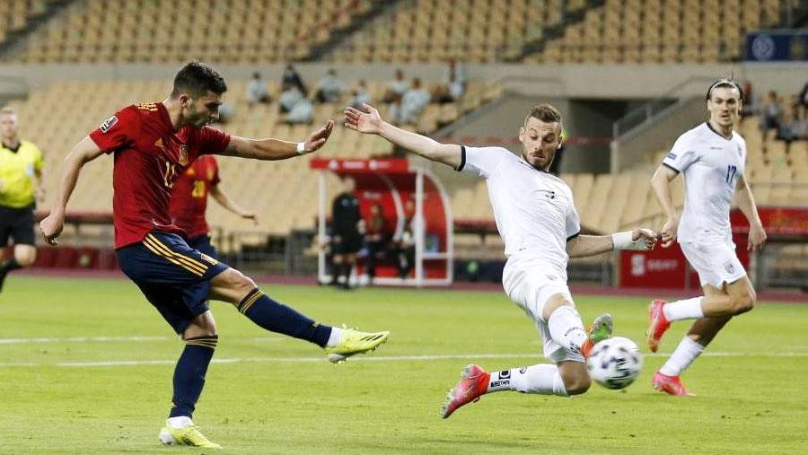 Spain beat Kosovo 3-1 in World Cup qualifier