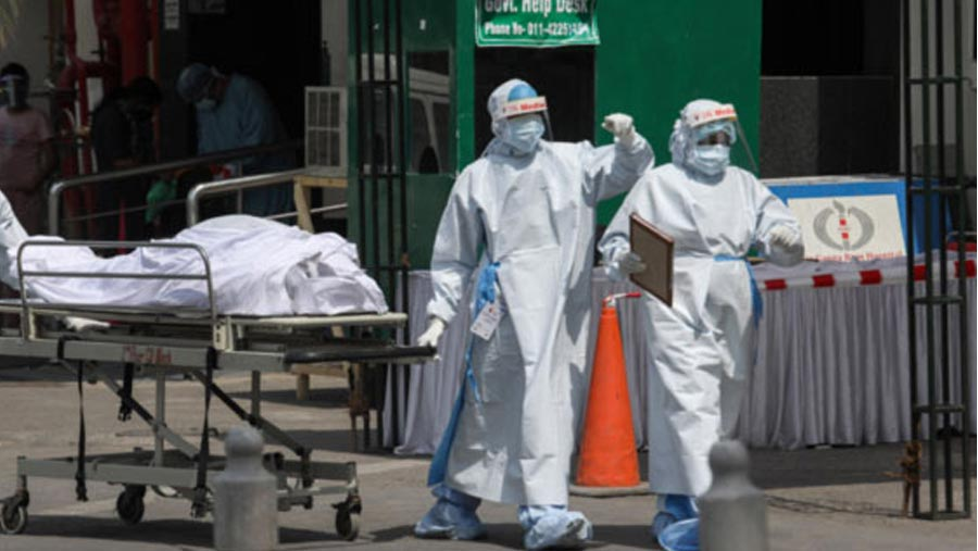 India records 3,46,786 Covid cases, 2,624 deaths in a day