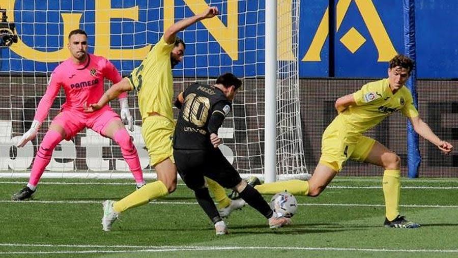 Barca grab 2-1 win over Villarreal