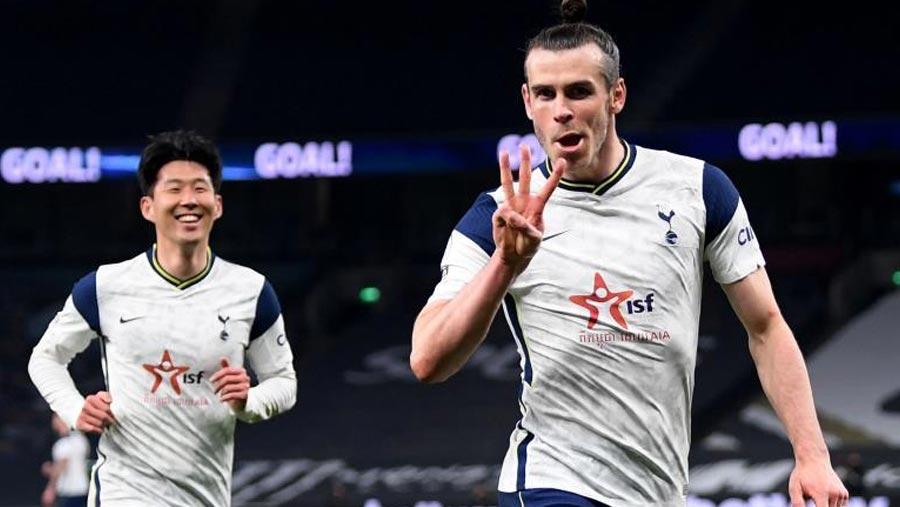 Bale nets hat-trick in Tottenham win