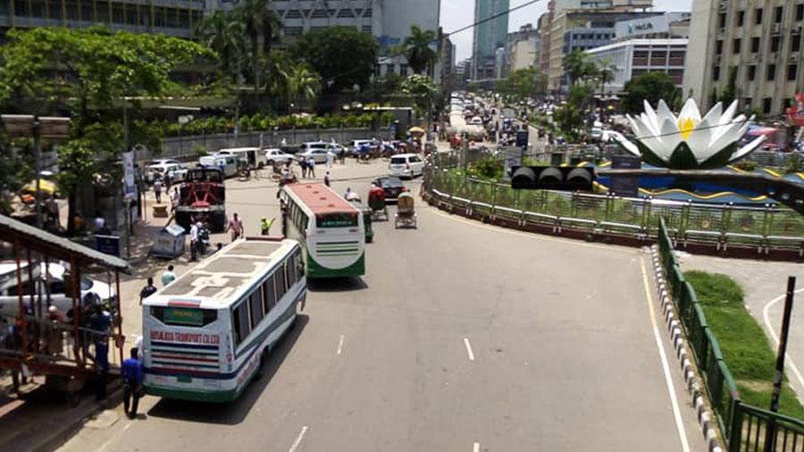 Public transport start plying from Thursday