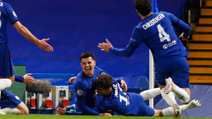 Chelsea set up all-English C' League final
