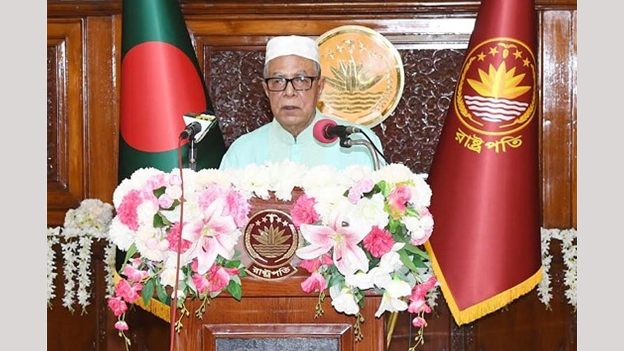 Stand by helpless people around us: President