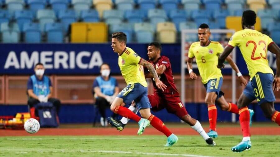 Colombia draw with Venezuela in Copa America clash