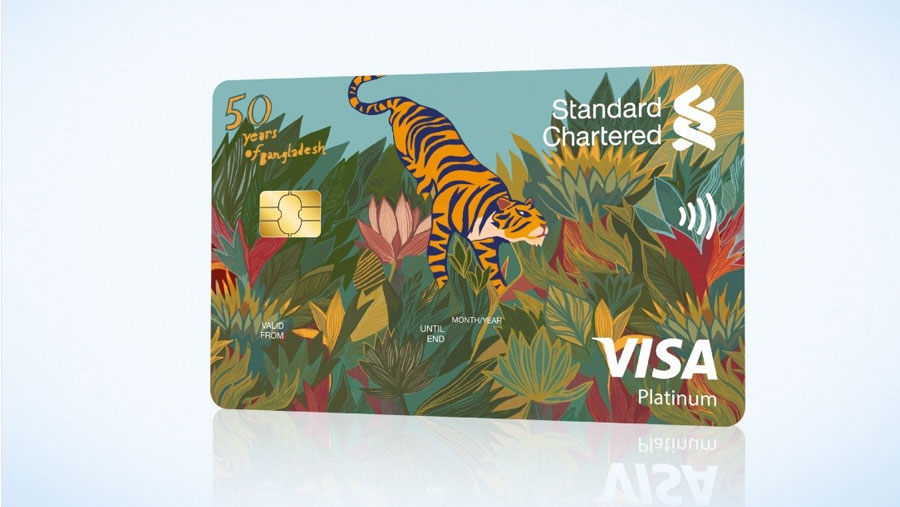 Standard Chartered launches commemorative credit card to mark 50 years of Independence