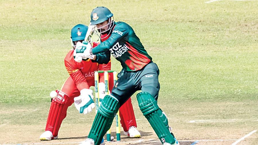 Tigers crush Zimbabwe by 155 runs in first ODI