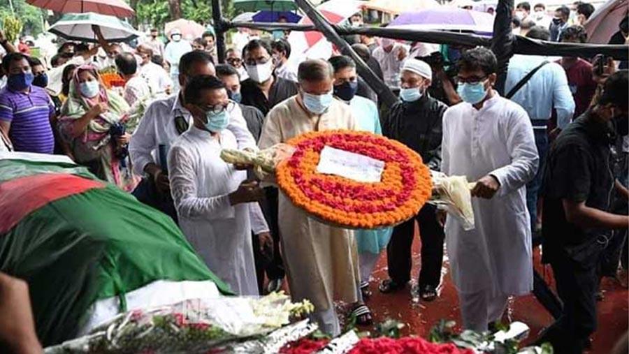 Tributes paid to Fakir Alamgir