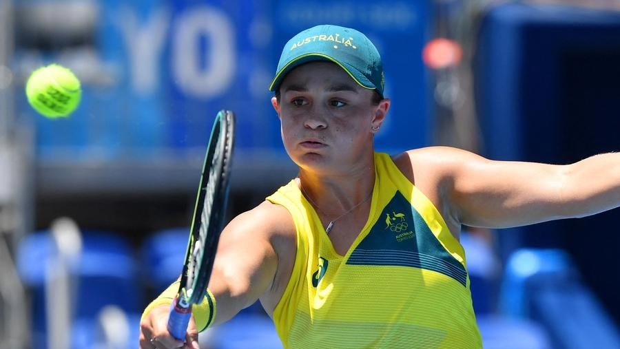 Ashleigh Barty stunned in Olympics first round