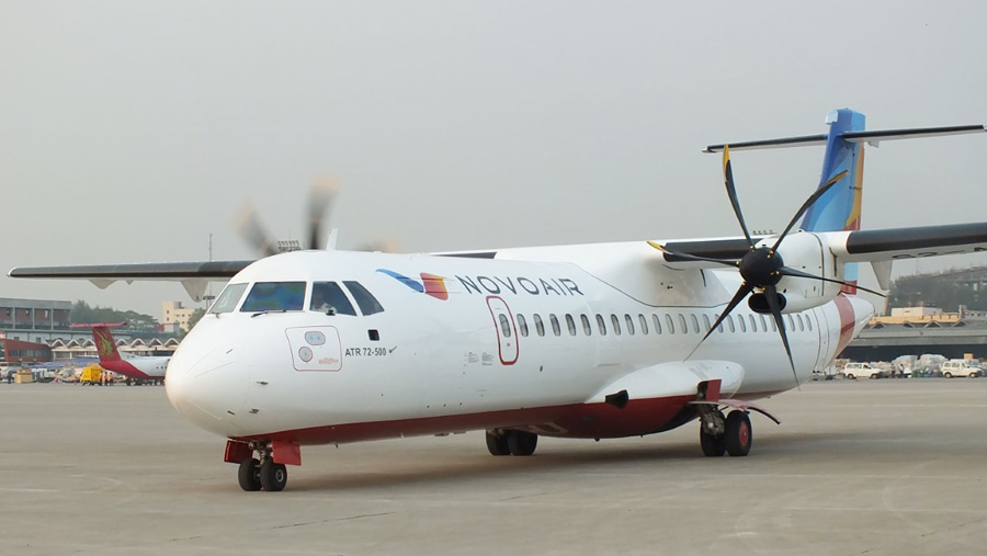 Novoair operates six daily flights to Cox's Bazar from Friday