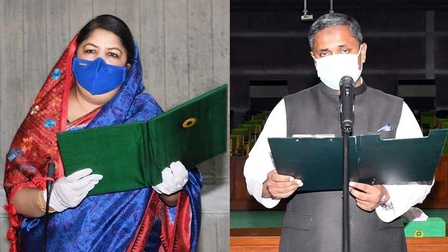 Habibur Rahman takes oath as lawmaker of Sylhet-3 constituency