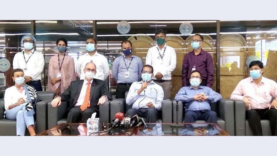 7.90 lakh doses of AstraZeneca vaccine arrive in Bangladesh