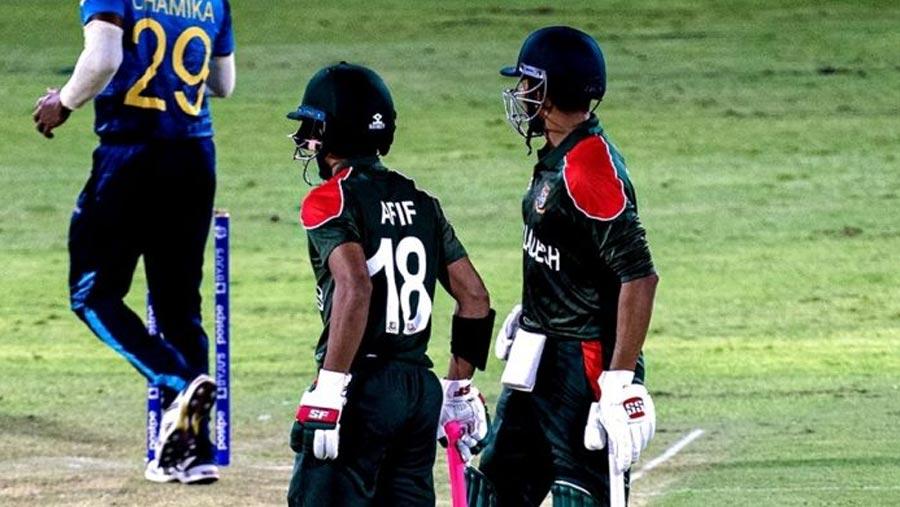 Tigers lose first match against Sri Lanka