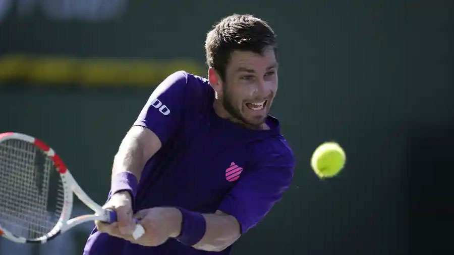 Norrie reaches Indian Wells final by beating Dimitrov