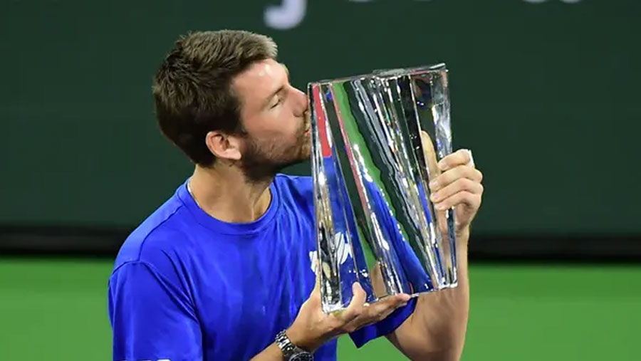 Norrie wins Indian Wells title